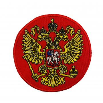 """Нашивка """"Орел РФ"""" красный"""