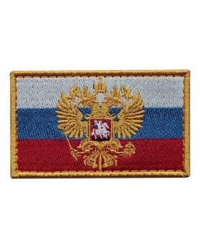 """Шеврон """"Флаг Герб Россия"""""""