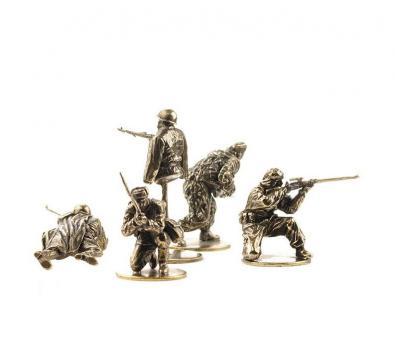 """Набор солдатиков """"Советские снайперы"""""""