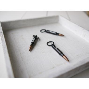 Брелок-открывашка в форме патрона