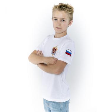 """Футболка детская """"Альфа"""" белая"""