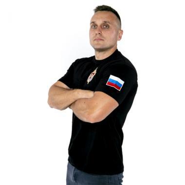"Футболка ""Альфа"" ЦСН ФСБ РФ, вышивка"