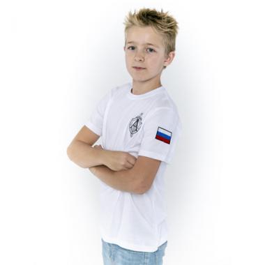 """Футболка детская """"Антитеррор"""" белая"""