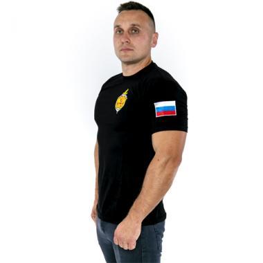"""Футболка """"ФСБ РОССИИ"""", вышивка"""