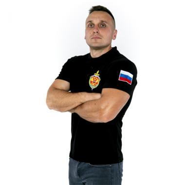 "Поло ""ФСБ"" Вышивка"