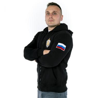 """Толстовка """"Вымпел"""" ЦСН ФСБ РФ, вышивка"""