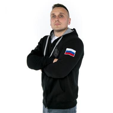 """Толстовка """"Альфа Антитеррор"""" вышивка"""