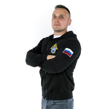 """Толстовка """"Следственный Комитет РФ"""" вышивка"""