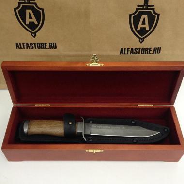 """Подарочный нож """"От офицеров группы """"А"""""""
