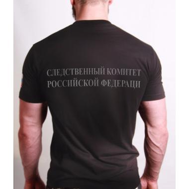 """Футболка """"Следственный комитет РФ"""", вышивка"""