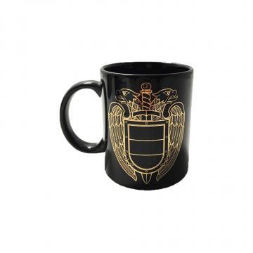 Кружка ФСО, золотая эмблема