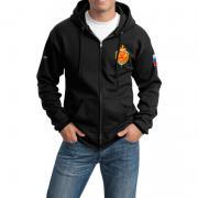 Спортивный костюм ФСБ России, вышивка, черный