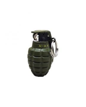 Зажигалка-брелок, ручная граната М26