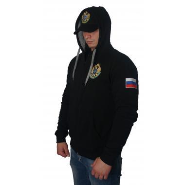 """Толстовка """"Пограничная Служба ФСБ России"""" вышивка"""