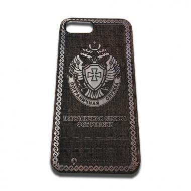 """Чехол из дерева """"Пограничная служба ФСБ России"""" на iPhone 6/6S"""