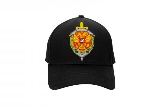 Бейсболка ФСБ РОССИИ, цвет: черный