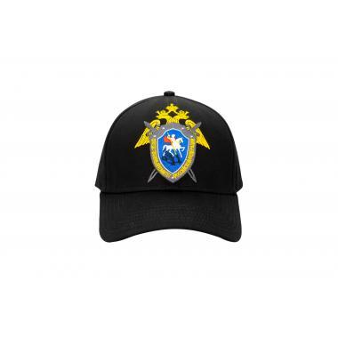 """Бейсболка """"Следственный Комитет РФ"""", цвет черный"""